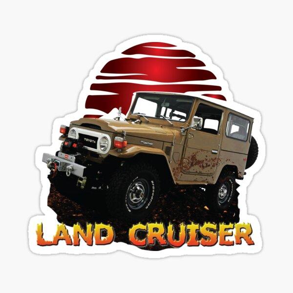 Toyota Land Cruiser FJ40 Vintage 4X4 Car Sticker