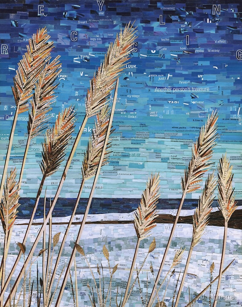 Wintertime on Lake Erie by Shawna Rowe