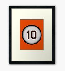 10 - Jonesy Framed Print