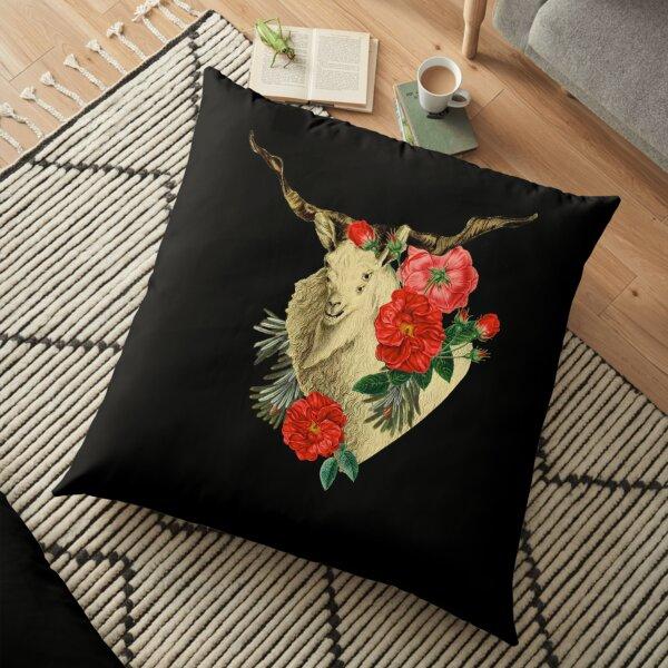 Quattuor Luscus Capra  Floor Pillow