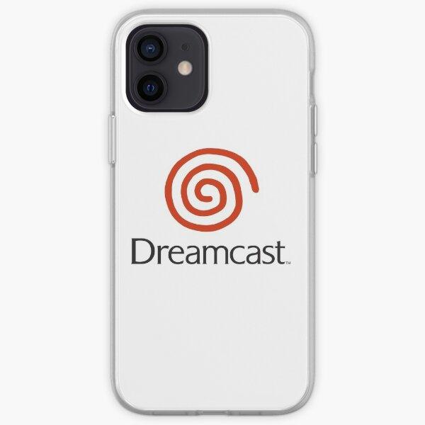 Dreamcast Logo (avec texte) Coque souple iPhone