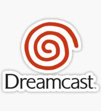 Pegatina Logotipo de Dreamcast (con texto)