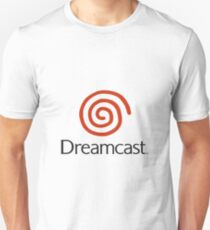 Dreamcast Logo (With Text) Unisex T-Shirt