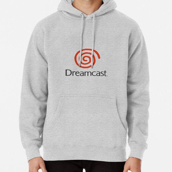 Logotipo de Dreamcast (con texto) Sudadera con capucha