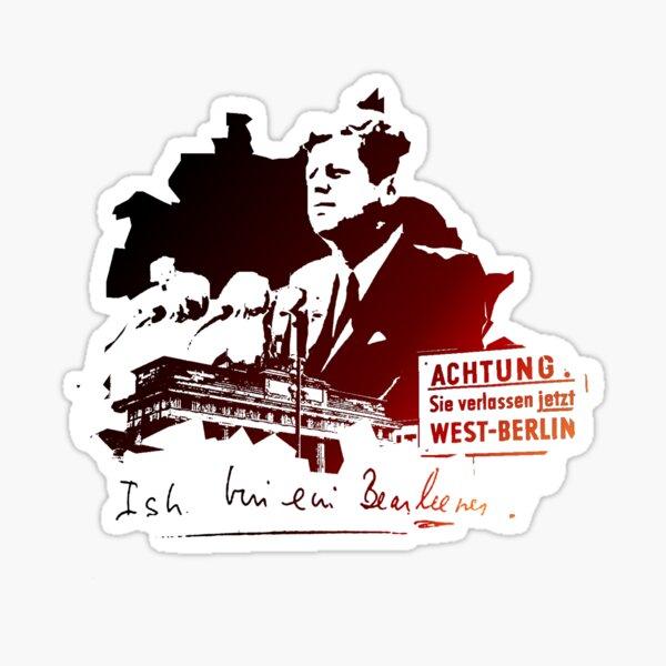 Ich bin ein Berliner Sticker