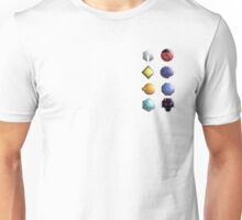 Johto League Badges Unisex T-Shirt