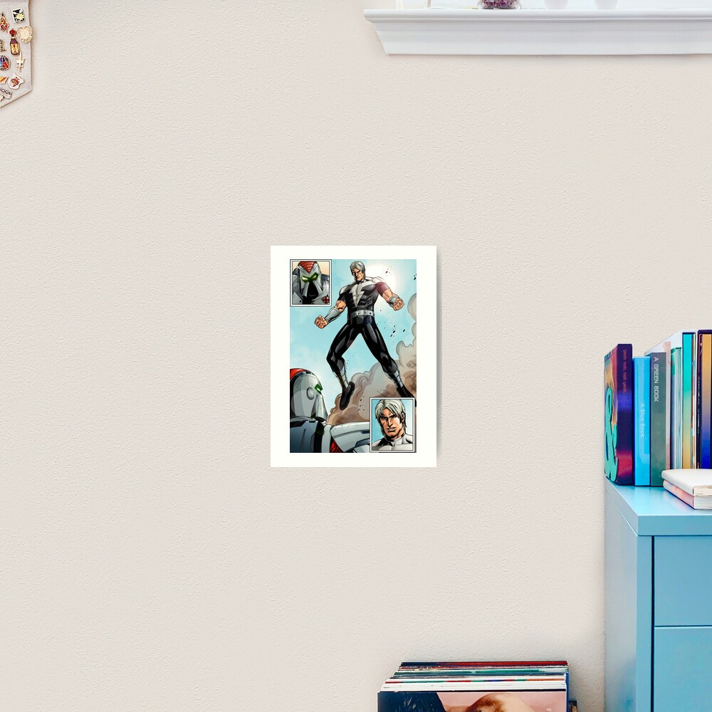 Thunder Intro Art Print