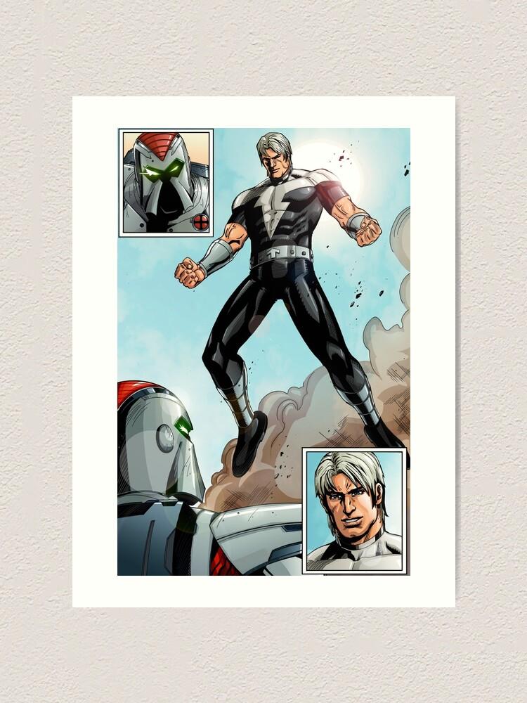 Alternate view of Thunder Intro Art Print