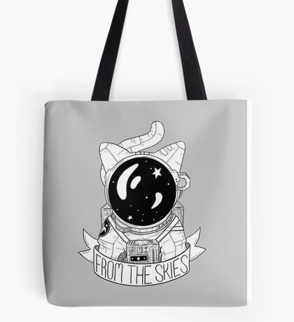 From The Skies Tote Bag