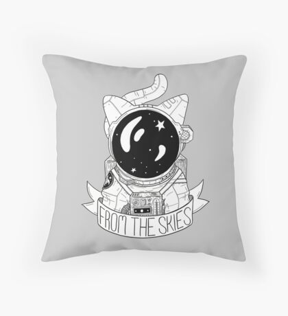 From The Skies Throw Pillow