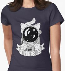 From The Skies Women's Fitted T-Shirt