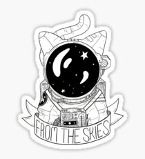 From The Skies Sticker