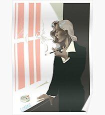 bedelia smoking Poster