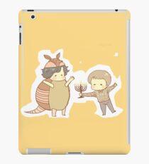Hanukkah & the Holiday Armadillo iPad Case/Skin