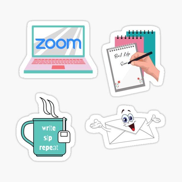 Letter writing sticker pack Sticker