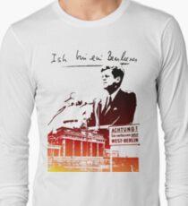 Ich bin ein Berliner, Berlin Wall, T-shirt Long Sleeve T-Shirt