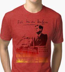 Ich bin ein Berliner, Berlin Wall, T-shirt Tri-blend T-Shirt