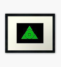 United Earth Order Framed Print