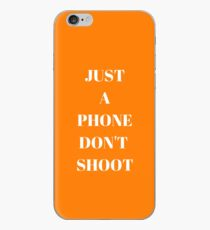 Don't Shoot Phone Case by AndHerStory iPhone Case