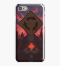 I Was Born In A Valley Of Freaks iPhone Case/Skin