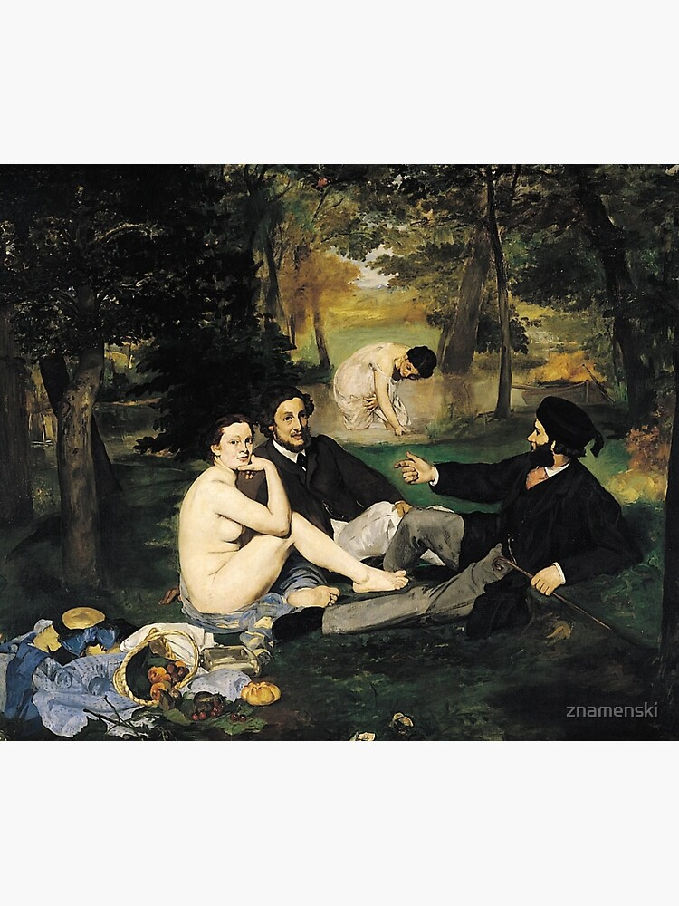 Edouard Manet Luncheon on the Grass by znamenski