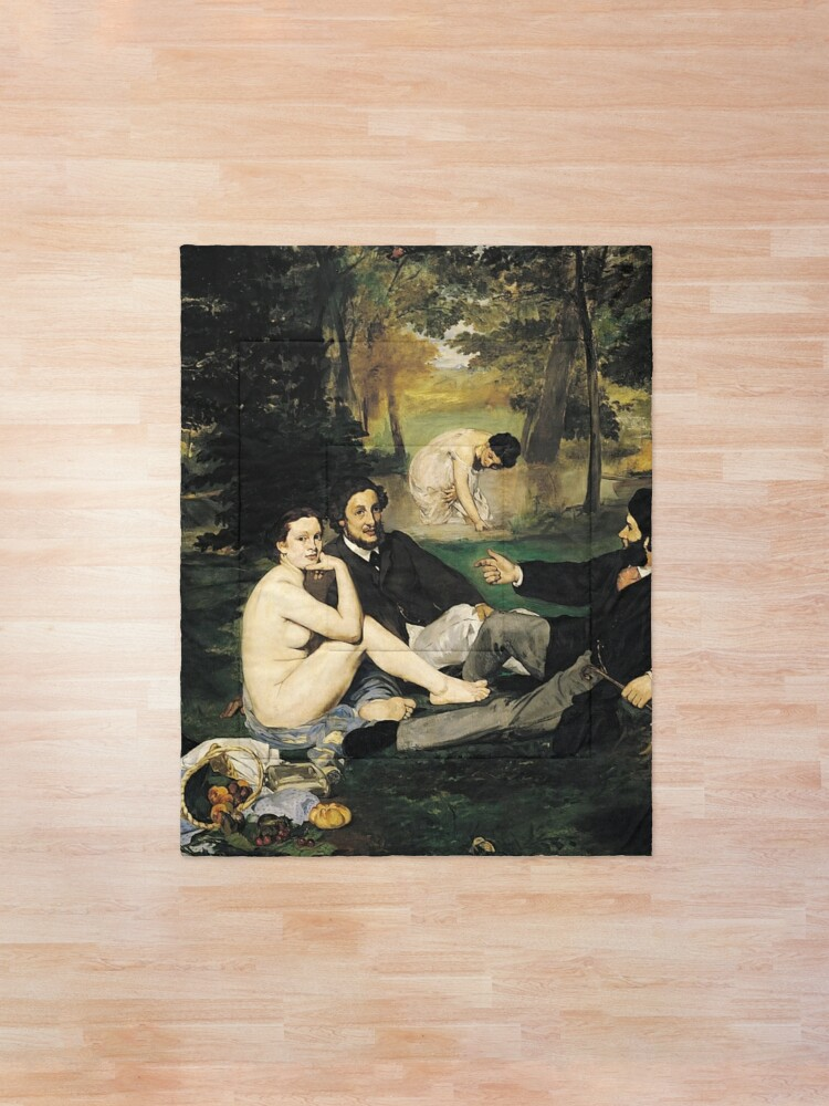 Alternate view of Edouard Manet Luncheon on the Grass Comforter