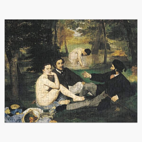 Edouard Manet Luncheon on the Grass Jigsaw Puzzle