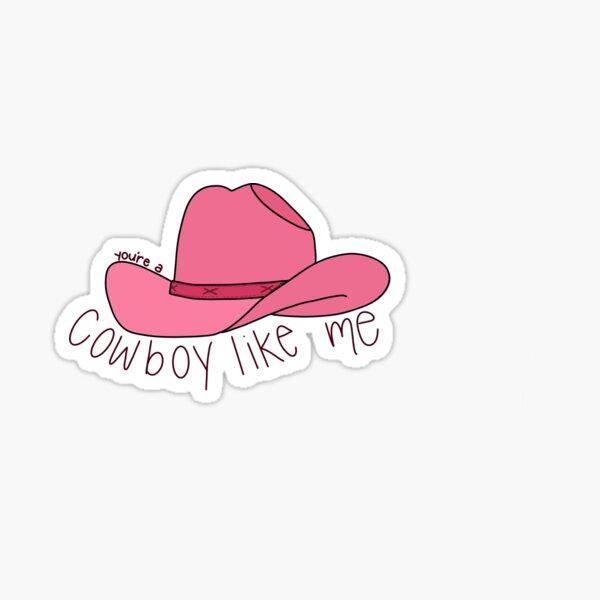 cowboy like me Sticker