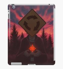 I Was Born In A Valley Of Freaks iPad Case/Skin