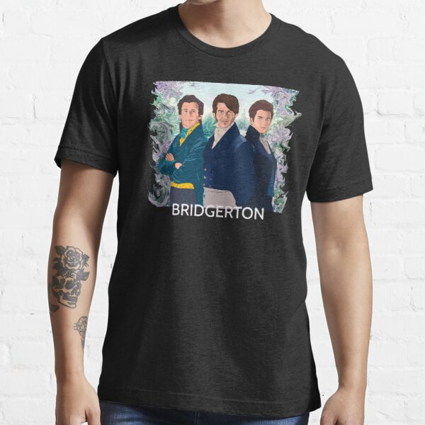 Benedict, Anthony, Colin brothers regency era character Essential T-Shirt