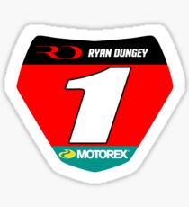 RD 1 Supercross champ plate Sticker