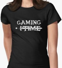 Gaming time Womens Fitted T-Shirt