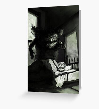Nightmare  Greeting Card