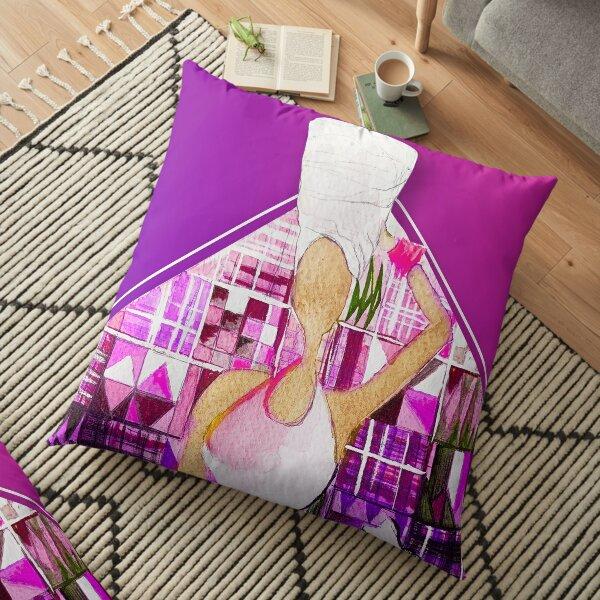 Black Queen Supreme Floor Pillow