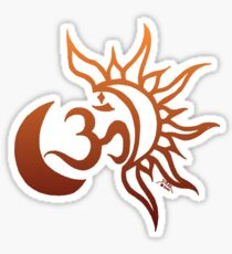 Celestial Om Sticker