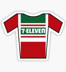 Retro Jerseys Collection - 7-Eleven Sticker