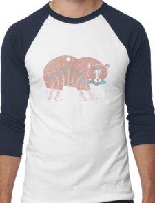 Folk Art Spirit Bear with Fish T-Shirt