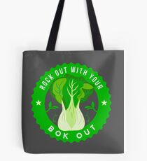 Rock Out with Your Bok Out Tote Bag
