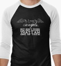 Side of the Angels - Black T-Shirt