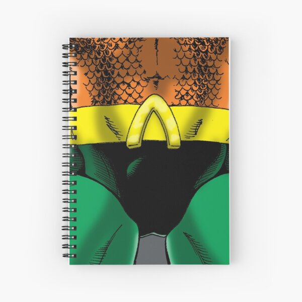 """Aquatic Dude"" Groin Spiral Notebook"
