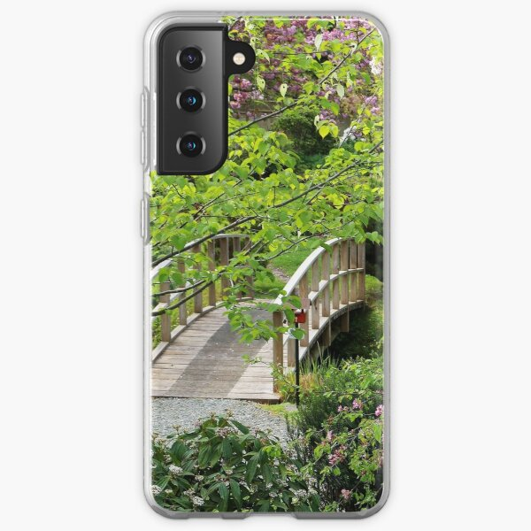 Bridge Mayne Island Japanese Garden Samsung Galaxy Soft Case