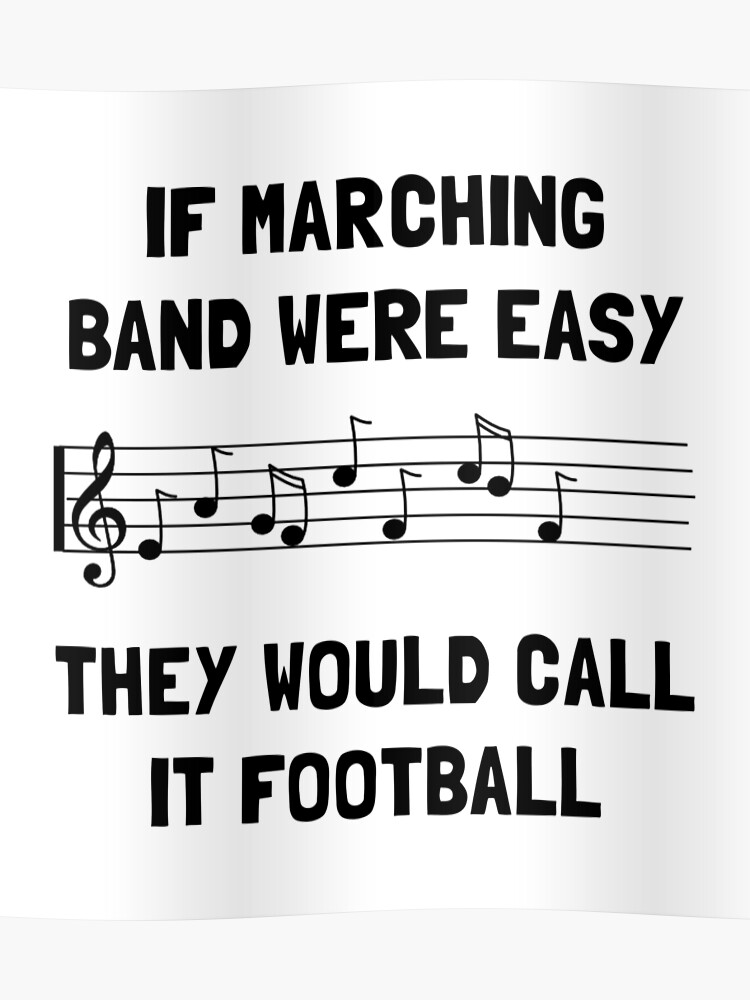 Marching Band Easy | Poster