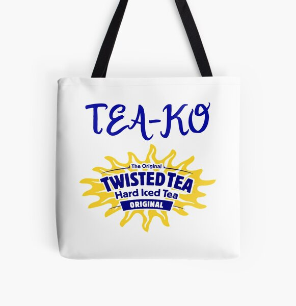 TeaKO Twisted Tea Meme All Over Print Tote Bag