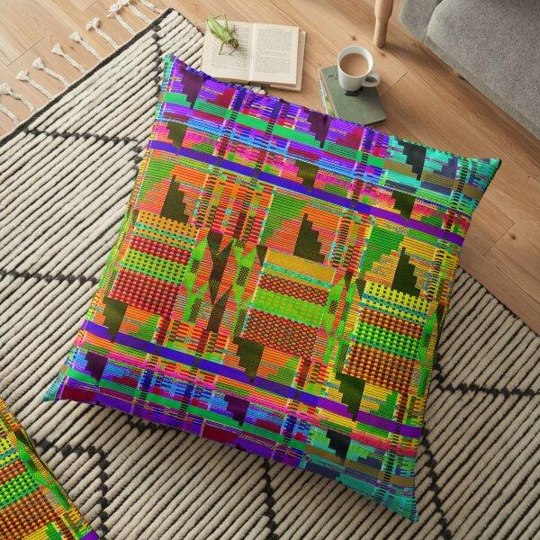 Kente Brights Floor Pillow