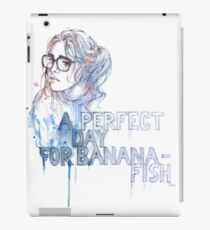 A Perfect Day for Bananafish iPad Case/Skin