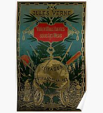 Jules Verne Extraordinary Voyages Poster