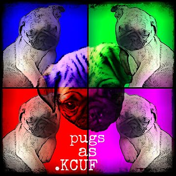 Pugs As KCUF by Joejack-Art