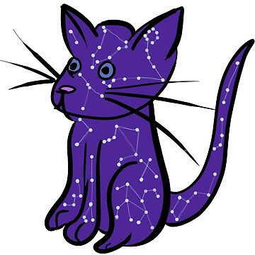 Constellation Cat by MrRaccoon