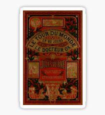 Jules Verne Around The World In Eighty Days Sticker