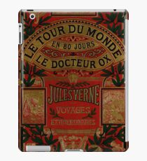 Jules Verne Around The World In Eighty Days iPad Case/Skin